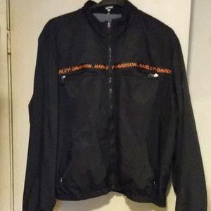 A Harley Davidson spring or fall coat